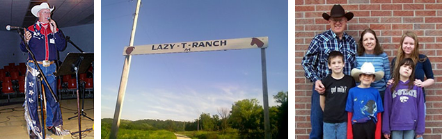 lazy t ranch family owned